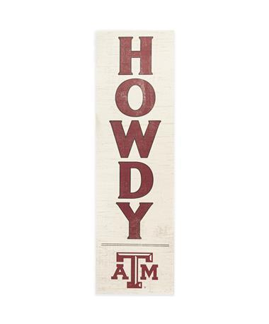 Texas A&M Indoor/Outdoor Howdy Sign