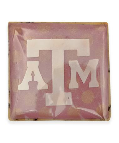 Texas A&M Square Block ATM Cookie