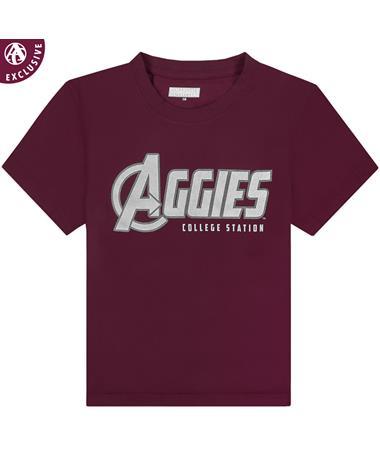 Texas A&M Aggies Superheroes Youth T-Shirt