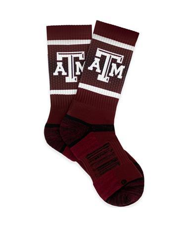 Texas A&M Beveled Logo Socks