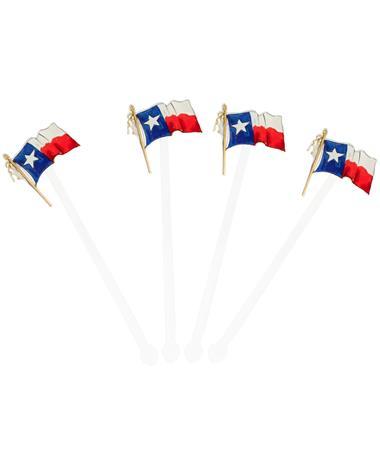 Texas Flag Acrylic Sticks