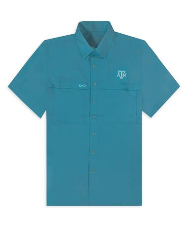 Texas A&M GameGuard Men's Mahi MicroFiber Button Down Shirt