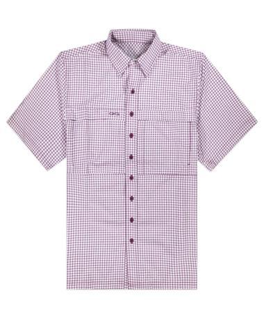 Maroon & White GameGuard Men's TekCheck Shirt