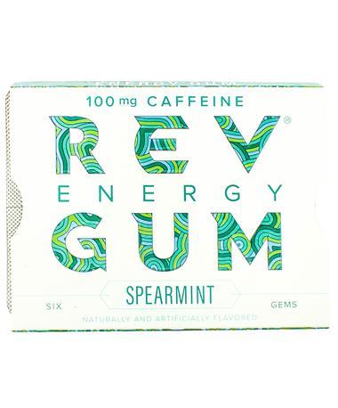 Rev Spearmint Energy Gum