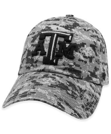Texas A&M '47 Brand Grey OHT Digital Camo Hat