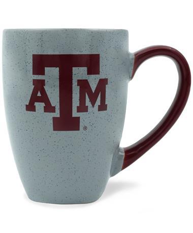 Texas A&M Graystone Maroon Logo Mug
