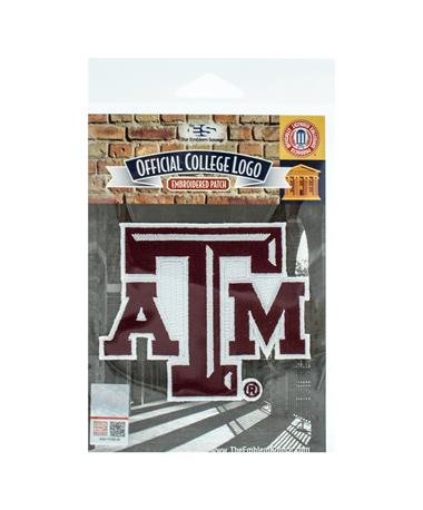 Texas A&M Embroidered Iron On Patch