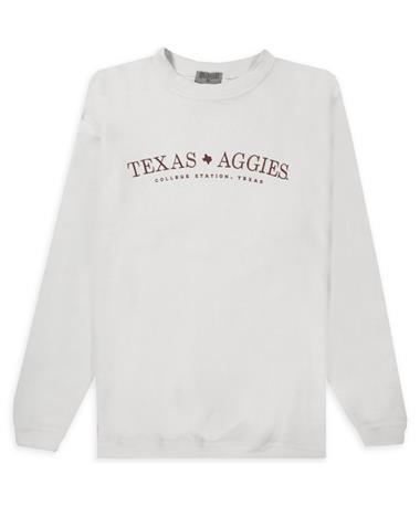 Texas Aggies Simple Corduroy Pullover