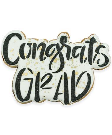 Congrats Grad Cookie