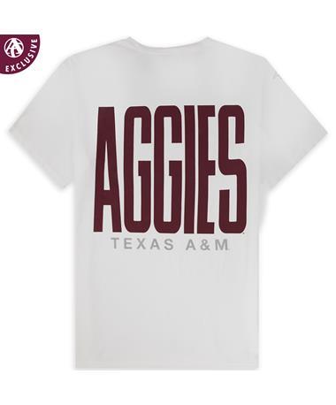Texas A&M Bold Maroon Aggies T-Shirt