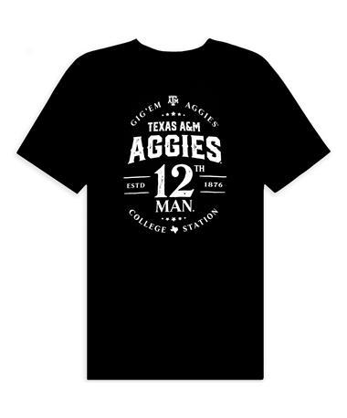 Texas A&M Aggies 12th Man Comfort Wash T-Shirt