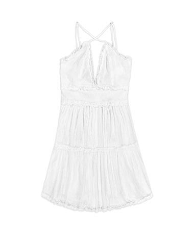 Swiss Dot Spaghetti Strap Dress