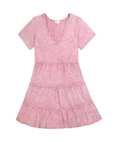 Washed Out Baby Doll Dress