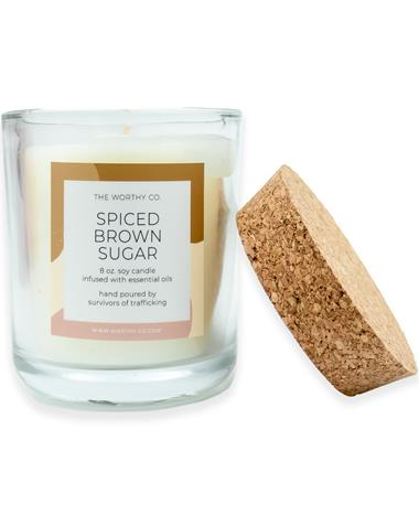Spiced Brown Sugar 8oz. Soy Candle