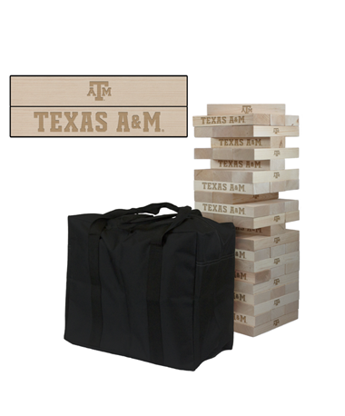 Texas A&M Giant Wooden Tumble Tower