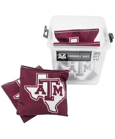 Texas A&M Lone Star Cornhole Bags