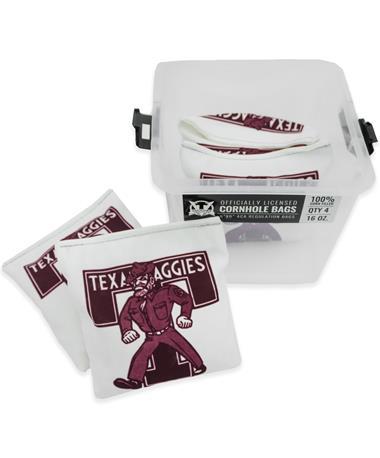Texas A&M Vault T Ol' Sarge Cornhole Bags