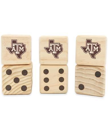 Texas A&M Aggies Yard Dice