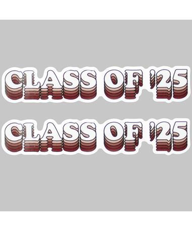 Class of '25 Dizzler Sticker