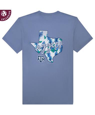 Texas A&M Aggies TX Bluebonnet T-Shirt