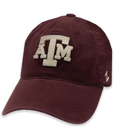 Texas A&M Arlington Wash Braided Logo Hat