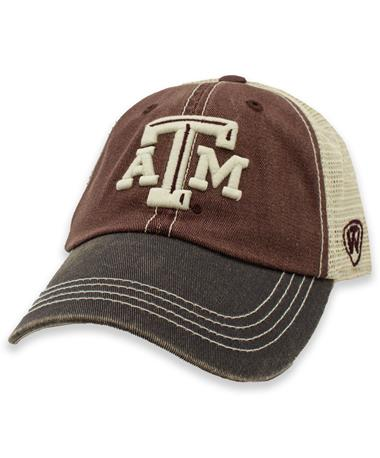 Texas A&M Offroad 3 Tone Adjustable Youth Hat