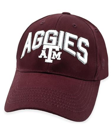 Texas A&M Aggies Overarch Adjustable Hat
