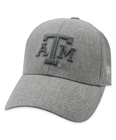 Texas A&M Swing Grey Adjustable Hat