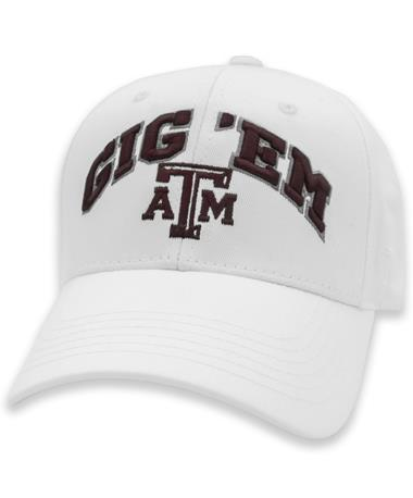 Texas A&M Gig 'Em Top Shot Hat