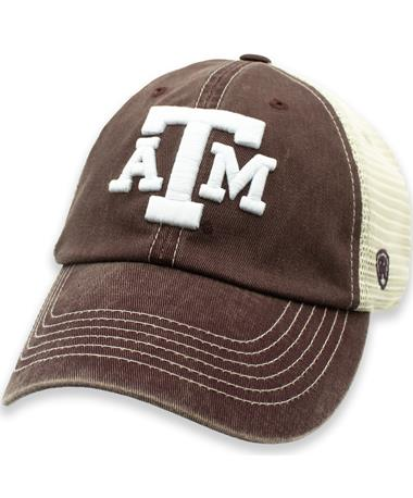 Texas A&M Aggies Wicker Two Tone Hat