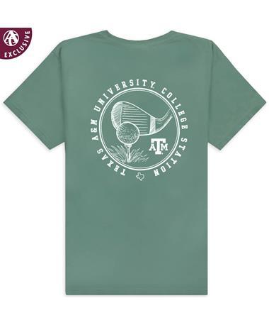 Texas A&M Coastal Green Golf T-Shirt