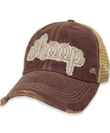Script Whoop Maroon Cap