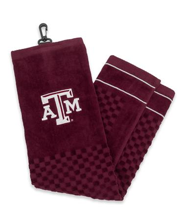 Texas A&M Embroidered Golf Towel