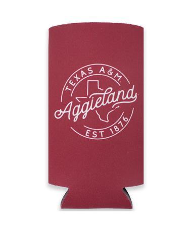 Texas A&M Aggieland Slim Koozie