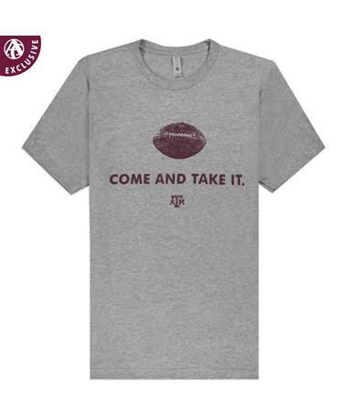 Texas A&M Come And Take It Football T-Shirt
