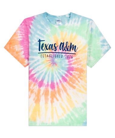 Texas A&M Tie Dye