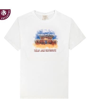 Texas A&M Kyle Field Mural T-Shirt