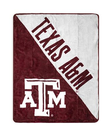 Texas A&M Team Licensed Throw Blanket