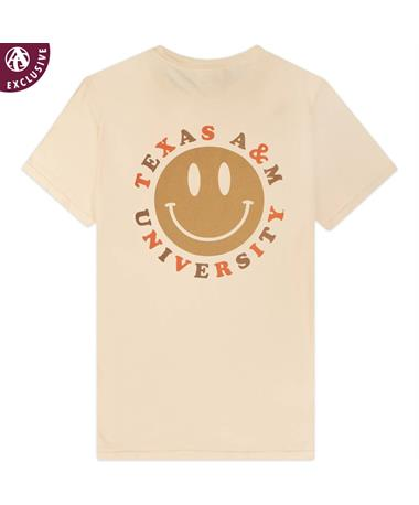 Texas A&M Smiley Face Comfort Wash T-Shirt