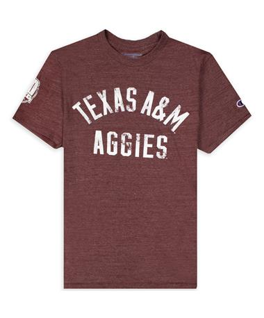 Texas Aggies Champion Centennial Logo Tee