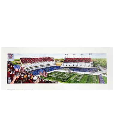 Texas A&M Benjamin Knox Red, White, & Blue Out 09/22/2001 Game Print