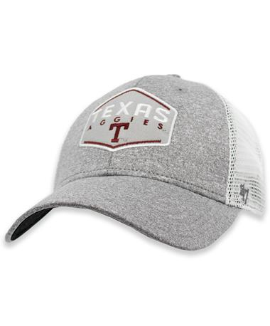 Texas Aggies '47 Brand Vin Gray Hitch Contender Hat