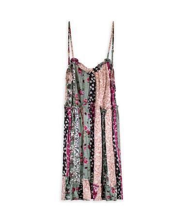 Multi Pattern Dress