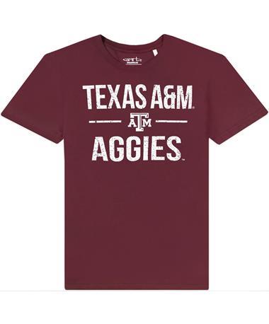 Texas A&M Garb Toni Football Youth Tee