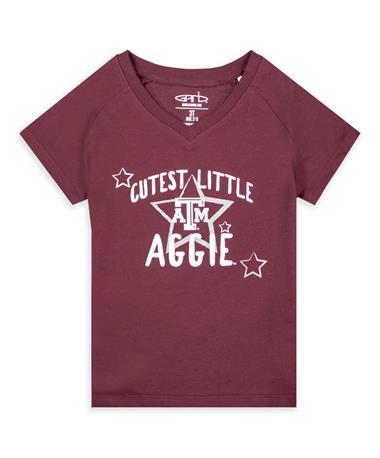 Texas A&M Garb Vickie Cutest Toddler Girls Tee