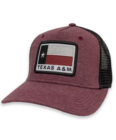 Texas A&M State Flag Roadie Snapback Hat