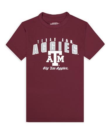 Texas A&M Aggies Maroon Trail Tee