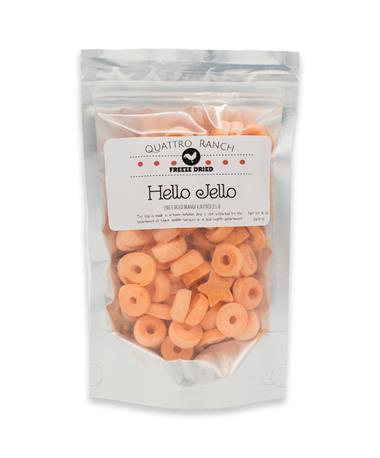 Quattro Ranch Freeze Dried Orange Jello