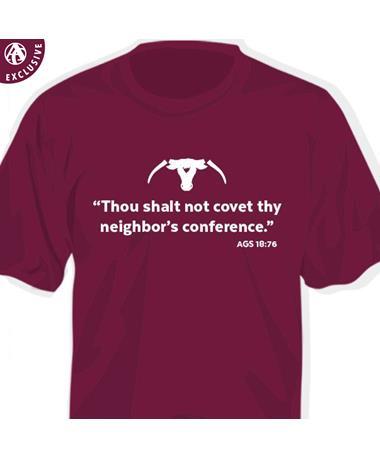 PRE-ORDER ITEM: Thou Shalt Not Covet Saw 'Em Off T-Shirt