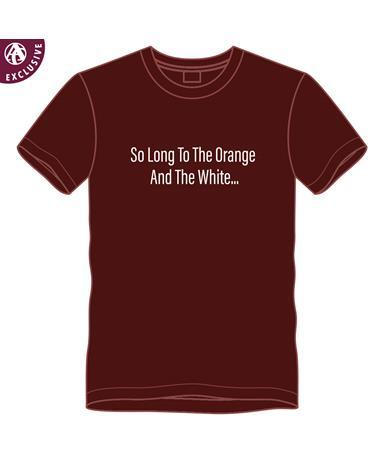PRE-ORDER ITEM: Maroon So Long... Saw 'Em Off T-Shirt